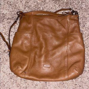Coach Park Leather Hobo Crossbody Bag